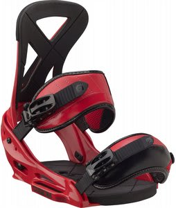 Burton Custom EST Snowboard Bindings Red