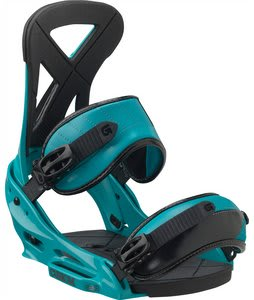 Burton Custom EST Snowboard Bindings Teal