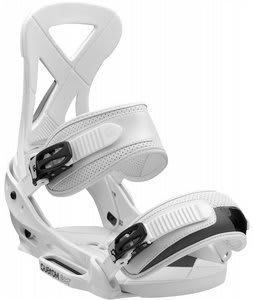 Burton Custom EST Snowboard Bindings White