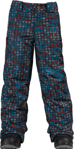 Burton Cyclops Snow Pants Hydroplane Block Prints