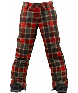 Burton Cyclops Snowboard Pants Keef Revolt Plaid
