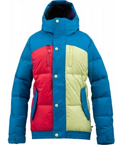 Burton Dandridge Down Snowboard Jacket Hotstreak Colorblock