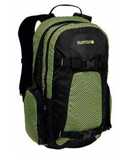 Burton Day Hiker Pack 20L Gator Green Brain Damage