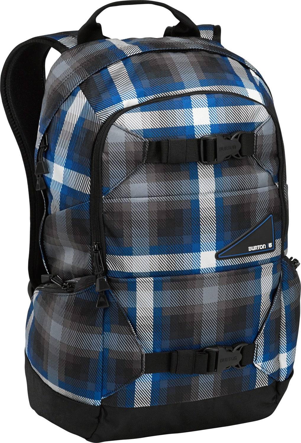 Burton Day Hiker Backpack Cobalt Springer Plaid 20L
