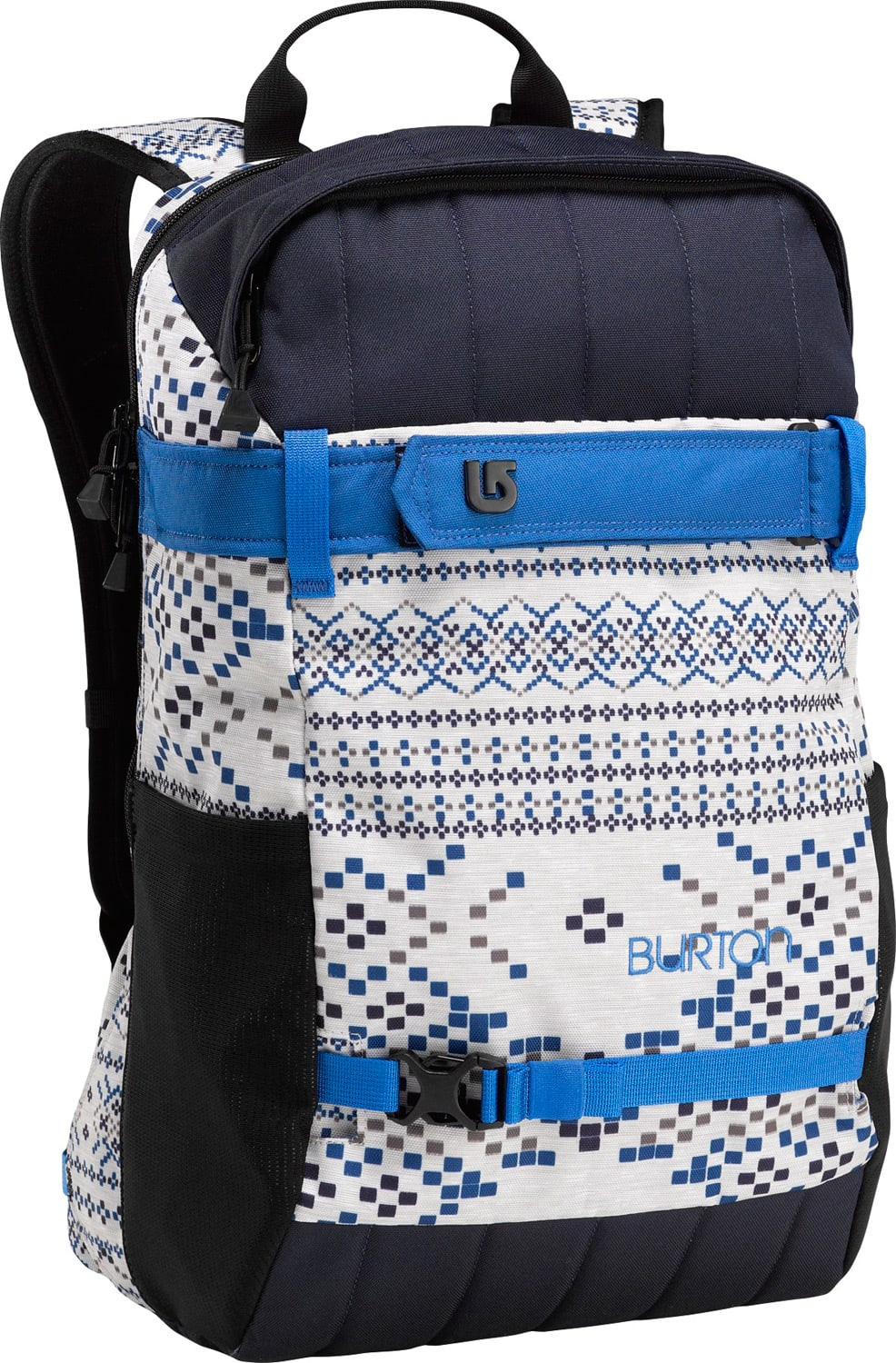 Burton Day Hiker Backpack Pixilated Fair Isle Print 23L