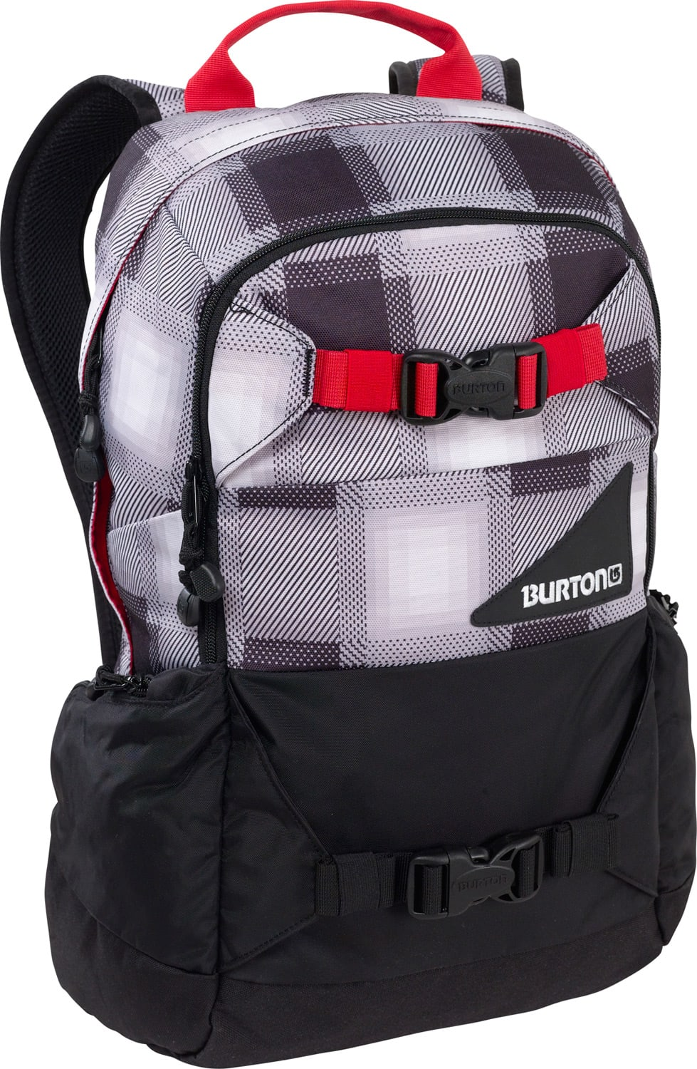 Shop for Burton Day Hiker 20L Backpack True Black Bobber Plaid - Men's