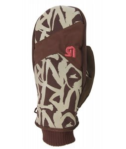 Burton Death Mittens Mocha