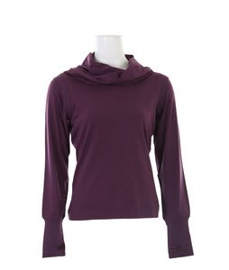 Burton Debate L/S Knit Top Eggplant