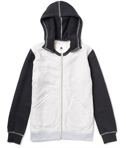 Burton Decade Premium Full-Zip Hoodie Heather Eclipse
