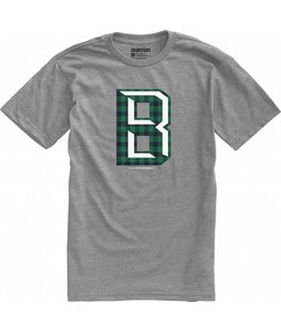 Burton Deep B T-Shirt Heather Grey