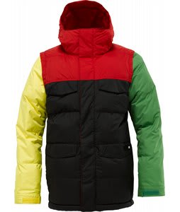 Burton Deerfield Puffy Snowboard Jacket Rastablock