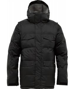Burton Deerfield Puffy Snowboard Jacket True Black