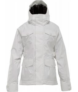 Burton Delirium Snowboard Jacket Bright White