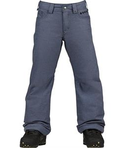 Burton Denim Snowboard Pants Denim Wash