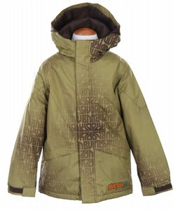 Burton Destroyer Snowboard Jacket Mocha Geo