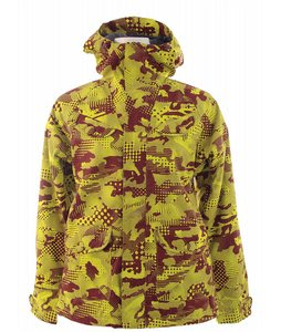 Burton Document Snowboard Jacket Deep Auburn Pop Camo