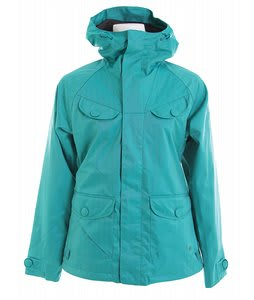 Burton Document Snowboard Jacket Tropical Green