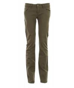 Burton Doorknocker Street Pants Burnt Olive