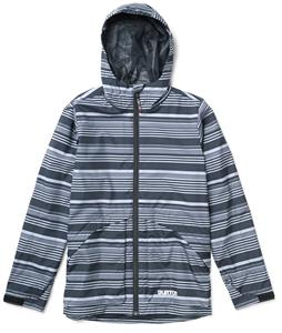 Burton Dover Jacket True Black Fortress Stripe