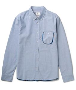 Burton Drake L/S Shirt Oxford Blue