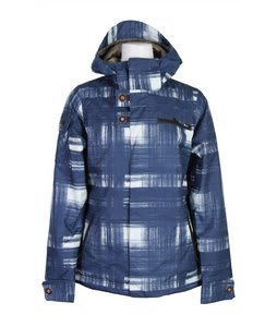 Burton Dream Snowboard Jacket Brshstrk Pld Nightfall