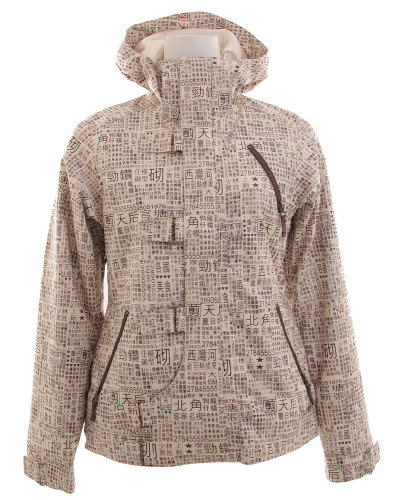 Burton Dream Snowboard Jacket Chestnut Paper Print