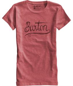Burton Dream Team T-Shirt Heather Cardinal