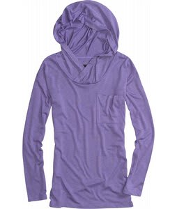 Burton Driftwood Hoodie Heather Moonraker