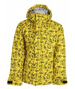 Burton Restricted Dyer Snowboard Jacket Crumb Print