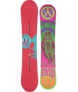 Burton Easy Livin Snowboard 160 Red