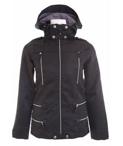 Burton LTD Elevation Snowboard Jacket True Black Matelesse