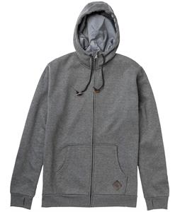 Burton Elite Bonded Hoodie Pewter Heather