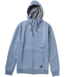 Burton Elite Bonded Hoodie Team Blue Heather