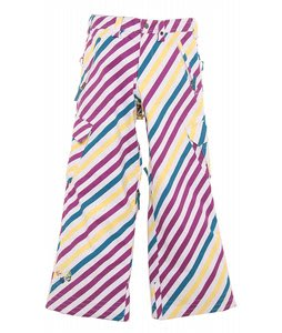 Burton Elite Snow Pants Diag Stripe Banana
