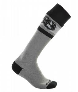 Burton Emblem Second Socks Granite
