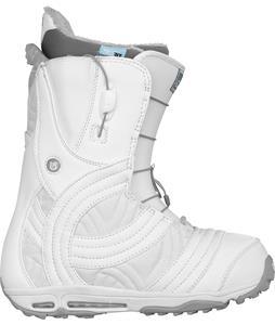 Burton Emerald Snowboard Boots White/Silver