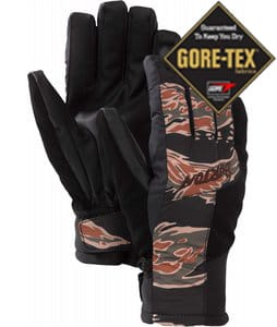 Burton Empire Gloves Beige Tiger Camo