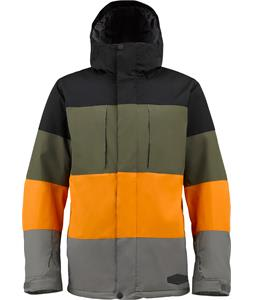 Burton Encore Snowboard Jacket True Black Colorblock