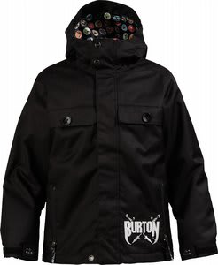 Burton Entourage Snowboard Jacket True Black