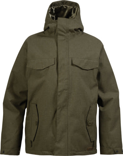 Burton Entourage Snowboard Jacket Trench Green