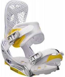 Burton Escapade EST Snowboard Bindings White Citron