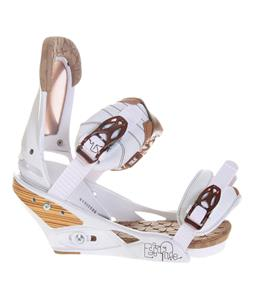 Burton Escapade Snowboard Bindings Natural White