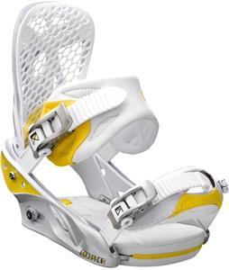 Burton Escapade Snowboard Bindings White Citron