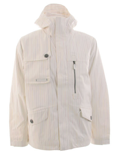 Burton Esquire Snowboard Jacket Bright White