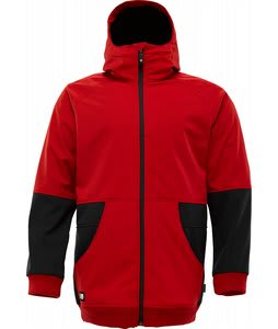 Burton Exeter Softshell Snowboard Jacket Cardinal