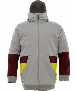 Burton Exeter Softshell Snowboard Jacket Iron Grey