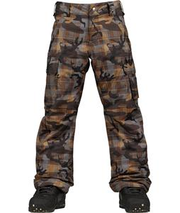 Burton Exile Cargo Snowboard Pants Plamo