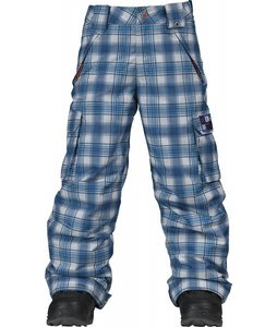 Burton Exile Cargo Snow Pants Titan Shred Plaid