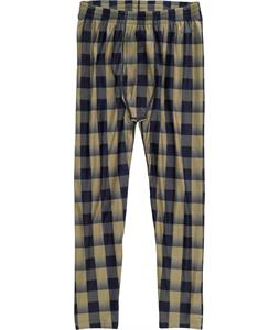 Burton Expedition Baselayer Pants Grayeen Buffade Plaid