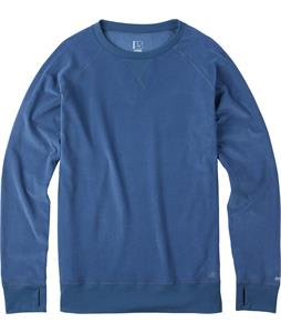 Burton Expedition Crew Baselayer Top Team Blue